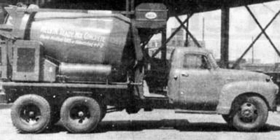 Melvin Co - Old Cement Truck