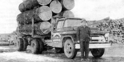 Melvin Co - Old Logging Truck