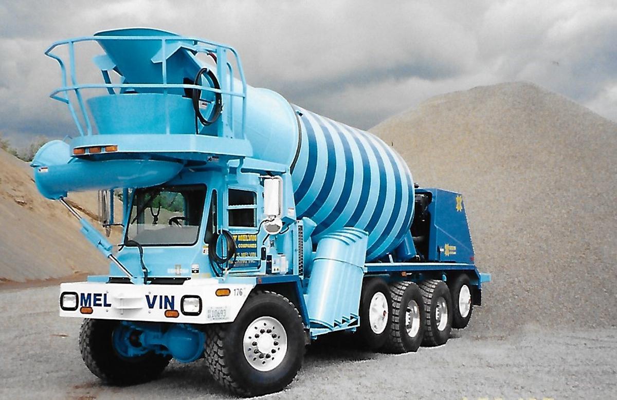 Front-Discharge Cement Truck | Melvin Companies | https://melvincompanies.com
